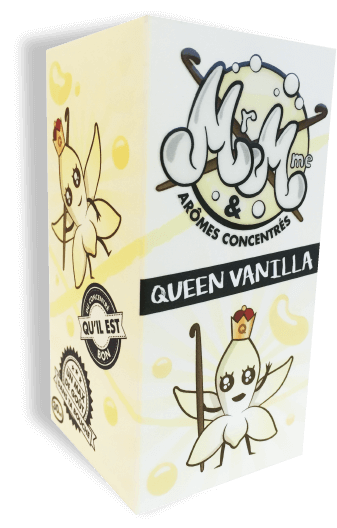 Mr&Mme box QueenVanilla